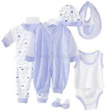 5pcs newborn infant baby pajamas toddler shirt bib hats