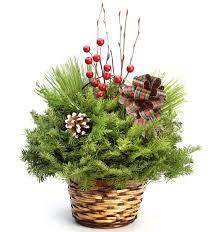 holiday centerpiece evergreen industries