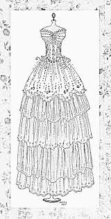 fashion design coloring pages 18 best fashion images on pinterest drawings patterns and