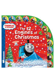 thomas u0026 friends the 12 engines of christmas board book myer