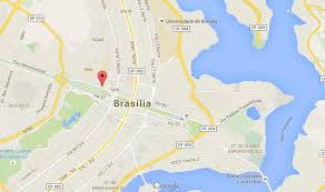 map of brasilia where is monumental axis on map of brasilia world easy guides