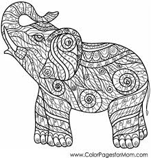 get this challenging coloring pages of elephant for adults 7g6df3