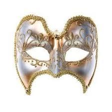 mardi gras masks for men mardi gras mask gold and white half mask for men from