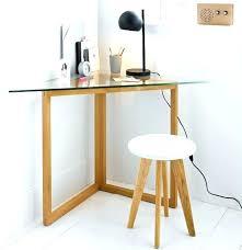 bureau angle verre noir bureau angle design bureau dangle design en bois chane sonoma