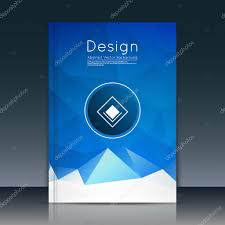 abstract composition text frame surface blue a4 brochure title