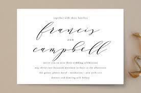 wedding invitations simple simple elegance wedding invitations by phrosne ras minted