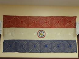 Paraguayan Flag Paraguay Tableside Traveler