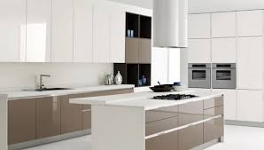 White Modern Kitchen Designs - modern kitchen design white cabinets home design ideas