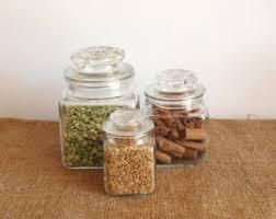 vintage glass canisters kitchen vintage milk glass spice jars vintage spice jars vintage