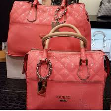 Tas Guess Speedy jual tas guess ori new bag romeo speedy selempang orange milik os
