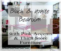 Black And White And Pink Bedroom Decorating With Black U0026 White Colors In A Bedroom Rustic U0026 Refined