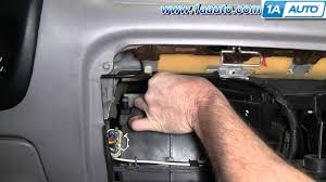 how to install replace air temperature door actuator explorer