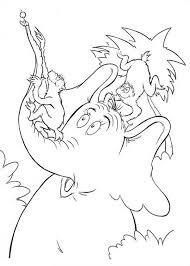 horton hatches the egg coloring pages horton hears a who coloring page coloring pages ideas u0026 reviews