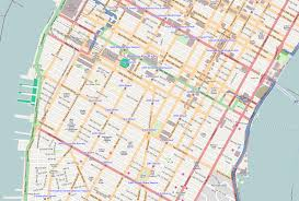 map of nyc streets file radially concentric created streets in new york city svg
