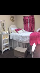 Pink Gold And White Bedroom Pink White And Gold Dorm Room Presidential Village 1 University