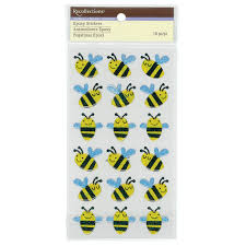 buy the bee epoxy stickers by recollections at michaels