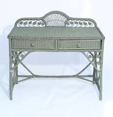 table comely pier 1 jamaica collection mirror and wicker vanity