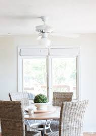 How To Paint Furniture White by How To Paint A Ceiling Fan Without Taking It Down In My Own Style