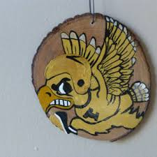 shop painted wood ornaments on wanelo