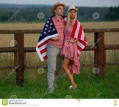happy family in country style stock photo image 70734801