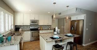 Kitchens With White Granite Countertops - alaska white granite countertops design cost pros and cons