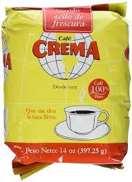 amazon com café crema ground coffee from puerto rico 14 ounce