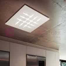 applique soffitto illuminazione a soffitto led avec linee di luce ncs et 23 casa