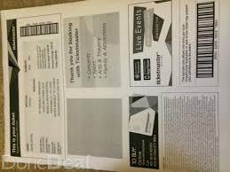 ticketmaster ticketfast barcode format georgie casey
