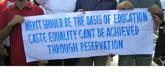 reservation u2013 a boon or bane for the development of indian society