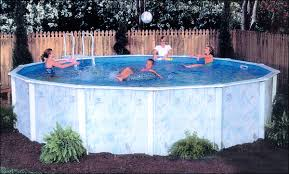 lomart lakeshore oval above ground pool package 52