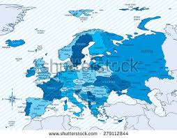 map of eastern european countries eastern europe map stock images royalty free images vectors