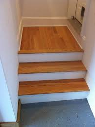 how to finish basement stairs flooring diy chatroom home