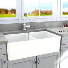 33 inch white farmhouse sink kas3321d 33 farm apron kitchen sink vancouver double bowl dream as