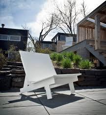 taavi modern outdoor chair by david salmela loll designs