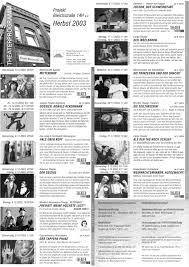 2003 Programme Seit 2003 Theateratelier 14h