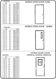 Custom Size Doors Exterior Mobile Home Doors Replacement Exterior Custom Size From A 14