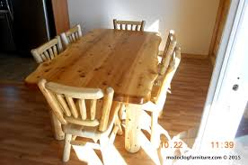 Rustic Dining Room Furniture Sets Explore Rustic Log Dining U0026 Game Roon Table Sets
