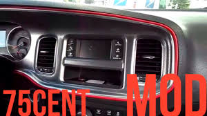 2010 Dodge Charger Interior 75 Cents Charger Interior Mod Youtube