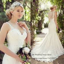 online get cheap wedding dresses lace mermaid style aliexpress