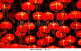 lanterns new year lanterns in chinatown stock photos lanterns in