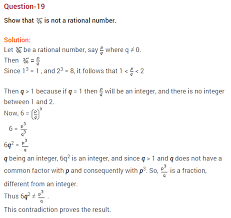 number system ncert extra questions for class 9 maths