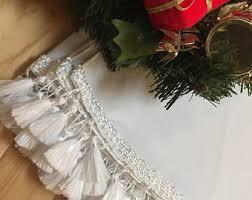 white tree skirt etsy