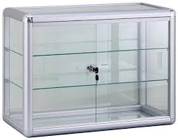 computer cabinets with doors retail glass display small bathroom