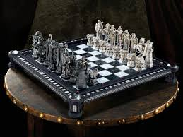 fancy chess boards harry potter final challenge chess set philosophers stone