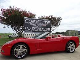 corvette warehouse dallas 2005 chevrolet corvette convertible 3lt z51 nav pwr top auto