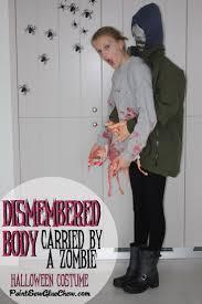 zombie halloween costume dismembered body halloween costume with zombie paintsewgluechew