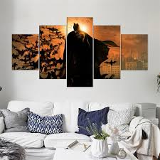 art painting for home decoration canvas painting unframed 5 pieces canvas prints pictures for