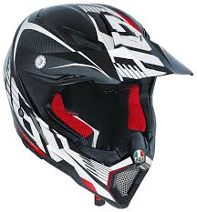 carbon fiber motocross helmet agv ax 8 evo carbotech helmet revzilla