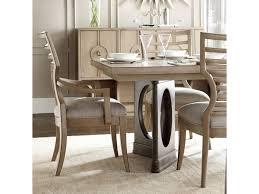stanley pedestal dining table stanley furniture virage 9 piece double pedestal dining table set