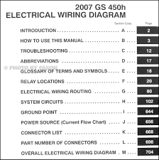 lexus gs430 workshop manual 2007 lexus gs 450h wiring diagram manual original